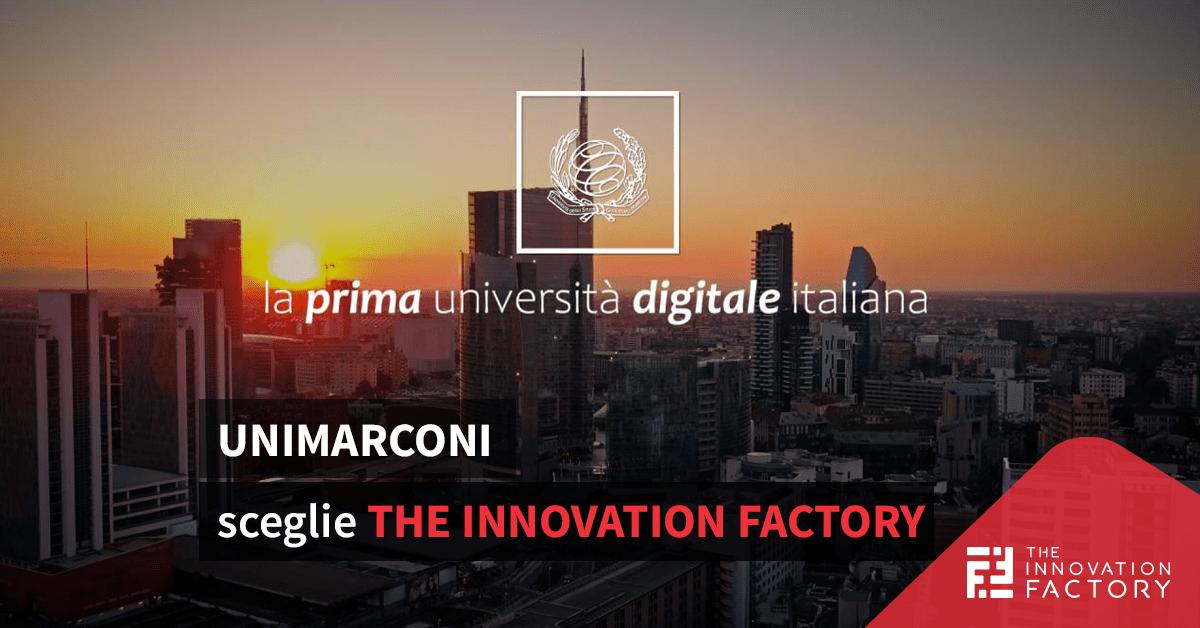 Partnership tra Università degli Studi Guglielmo Marconi e The Innovation Factory per strategia digitale