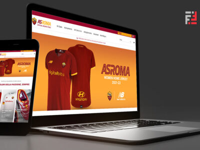 AS Roma online officiale store_The Innovation Factory